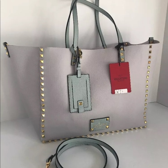 93ce6f969c Valentino Garavani Bags   New Valentino Rockstud Medium Tote Lila ...